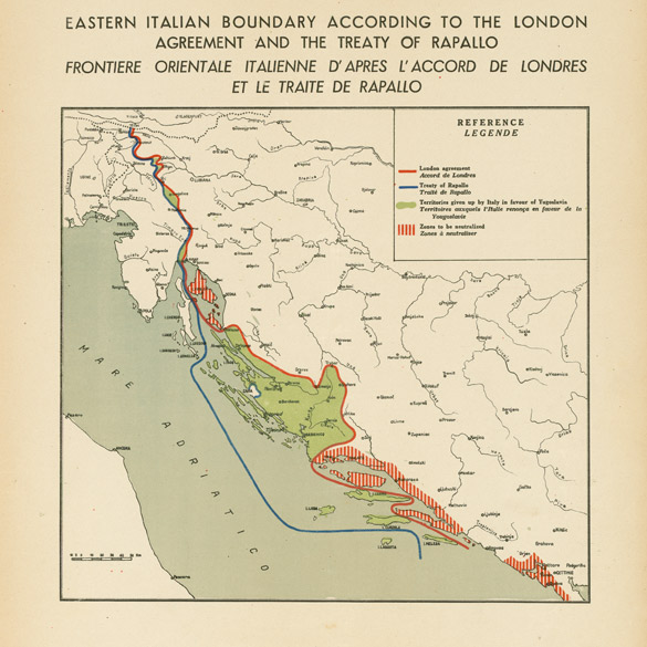 Cartina D Italia 1915.Regione Storia Fvg