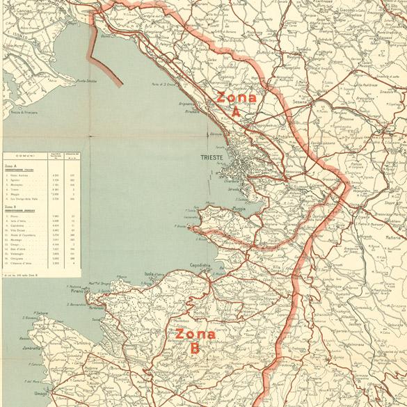 Cartina Italia Regioni E Confini.Regione Storia Fvg